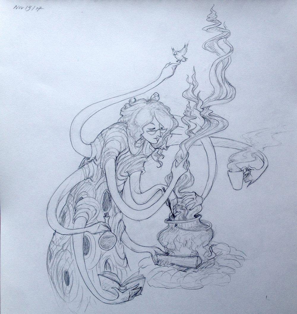 Sculpting smoke
