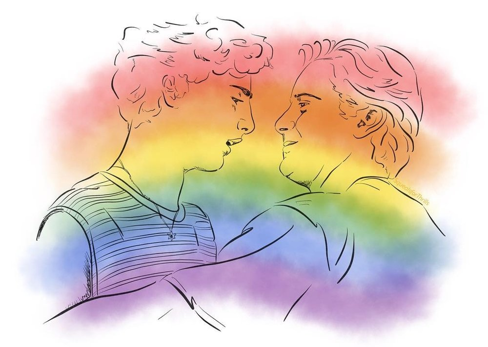 The Queer and Now: How Queer History Came onto Your Screens - Header Image Credit: Lorna Evans