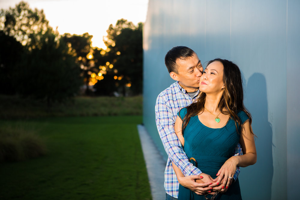 NCMA Museum Park  engagement session