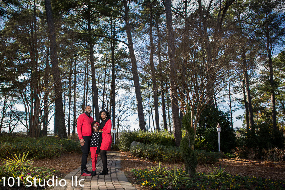 WRAL Azalea garden  Engagement session