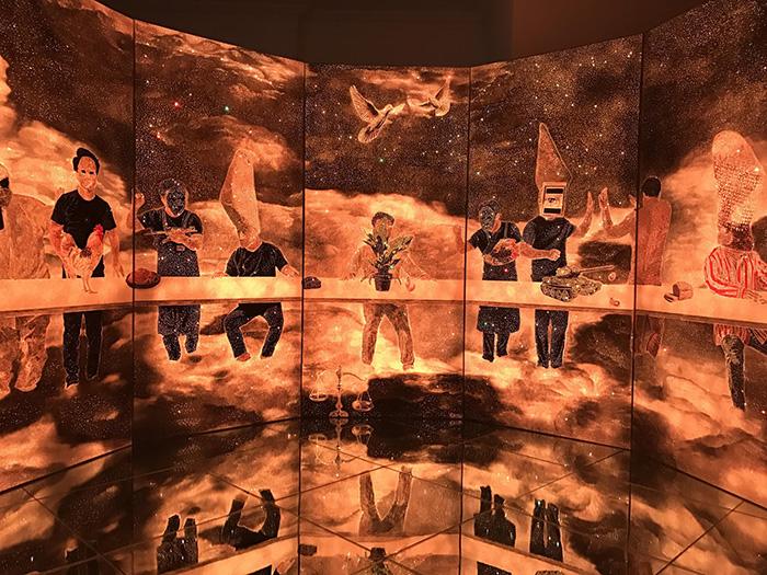 Eternal-Light-21c-Last-Supper-13.50MX3M-Canvas-on-Hangi-oil-Charcoal-LED-Light-Black-Mirrortempered-glass-video-2016-.-6.jpg