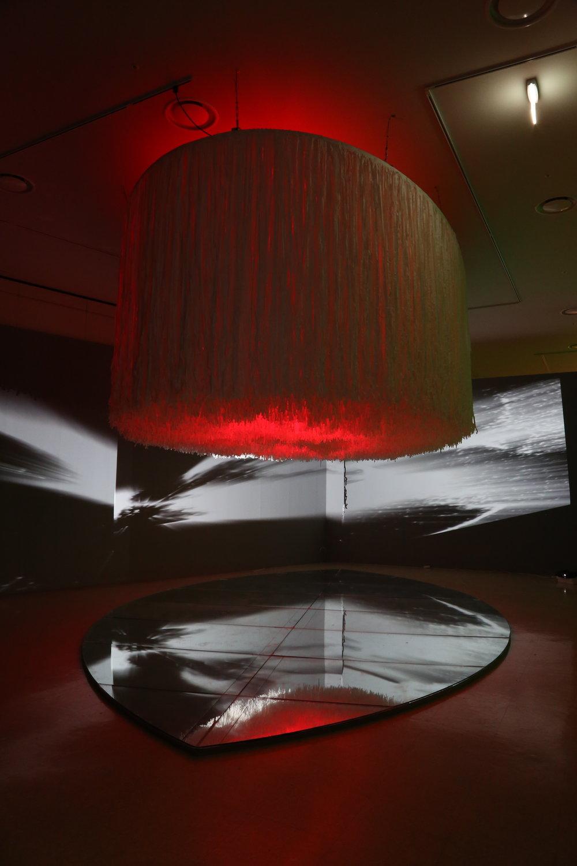 Eternal Light - Noha's Ark  15mx15mx7m Hangi Paper ,LED Panorama , 4 Chanel Video,Power Glass ,Mirror  2016. .JPG