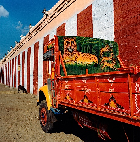 Martin Brading, Maharishi Ashram, Rishikesh, Arunachalesvara Temple, Tiruvanamallai, Tamil Nadu , 2000