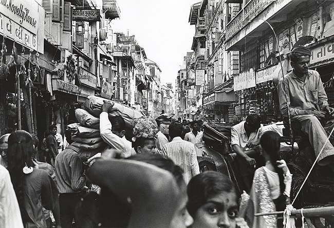 Population Crisis B.96.70 , Bombay, early 1970s
