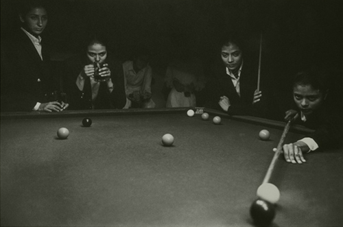 Air-Force Pilot Officers Playing Billiards ,Hyderabad, 1997