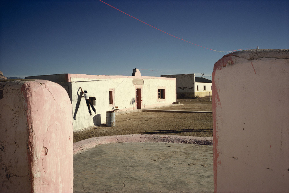 Alex Webb,  Boquillas, Mexico , 1979