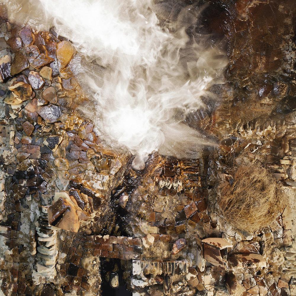 Vivan Sundaram,  Terraoptics  White Smoke , 2016