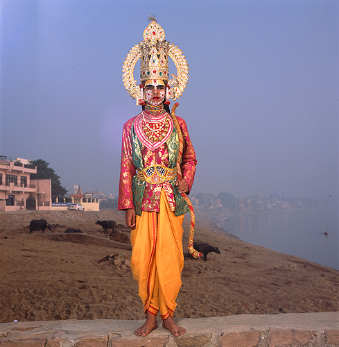 Phyllis Galembo, Ram, by the Ganges, India , 2014