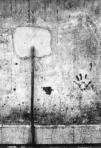 Bhupendra Karia, Hand Print on Wall, 1968