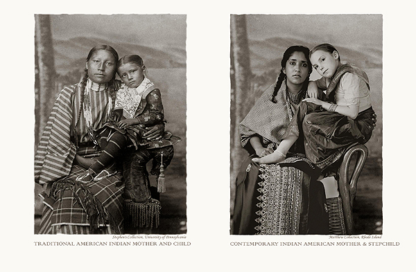 Annu Palakunnathu Matthew,  Daughters , An Indian From India, Portfolio 1,  2001-2003