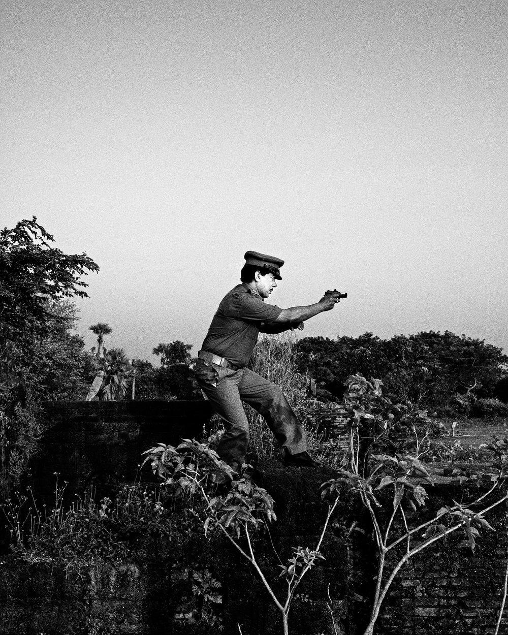 "Shymal Dihidar, Gokulpur, India , 2013 from ""Let's Sing an Old Song"""
