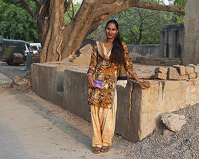 Sunil Gupta, Nisha, RPS Colony, 2011, from  Mr. Malhotra's Party