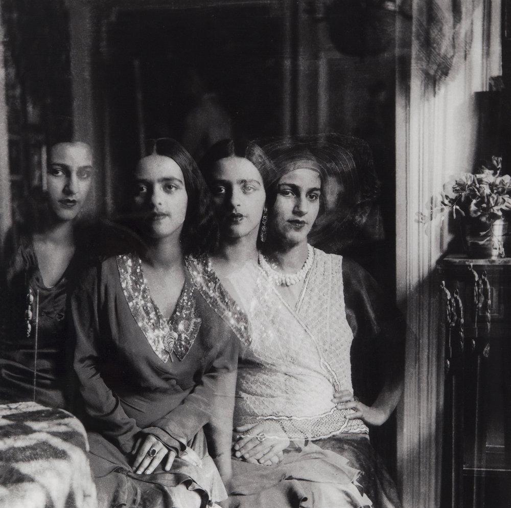 Vivan Sundaram, Quartet,  2001 from  Re Take of Amrita