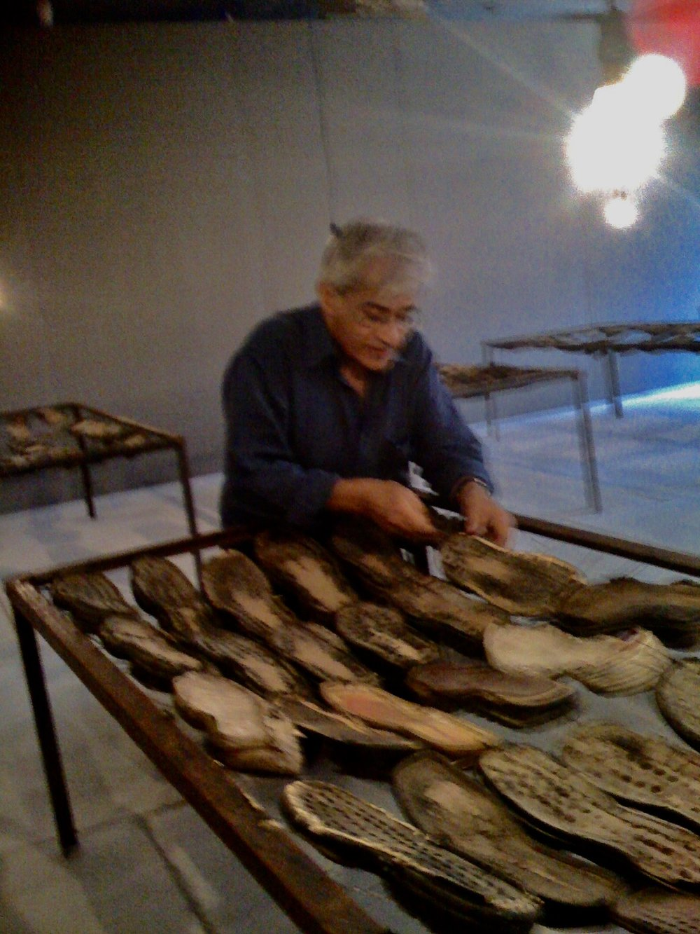 Vivan Sundaram at work