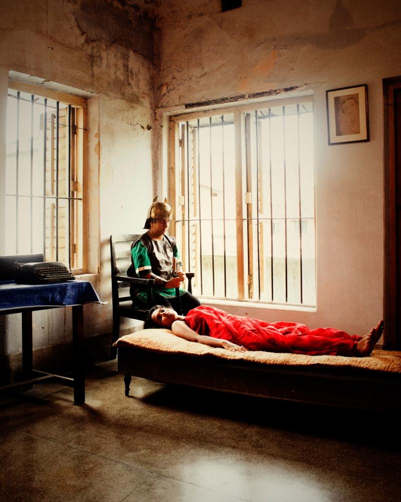 "Soumya Sankar Bose,  Baishali/Kolkata, West Bengal, India,  2016 from ""Full Moon on a Dark Night"""