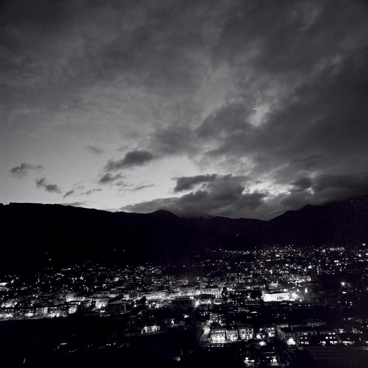 Thimpu at night, Bhutan.jpg