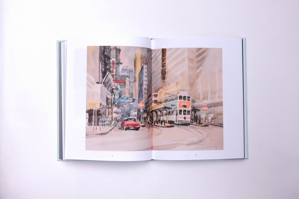 the city book - hong kong - content page