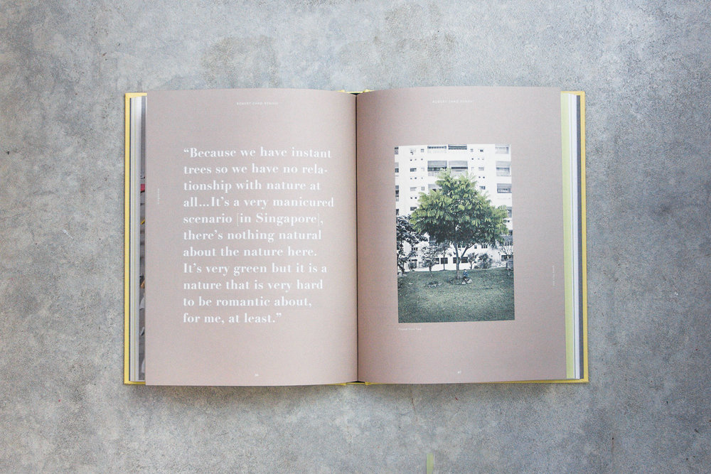 the city book - singapore - content page