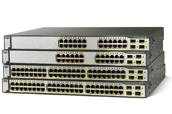 Cisco Catalyst Switches - Popular Products:WS-2960X, WS-3850, C9300