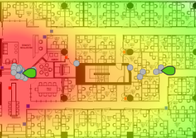 Example of heat map