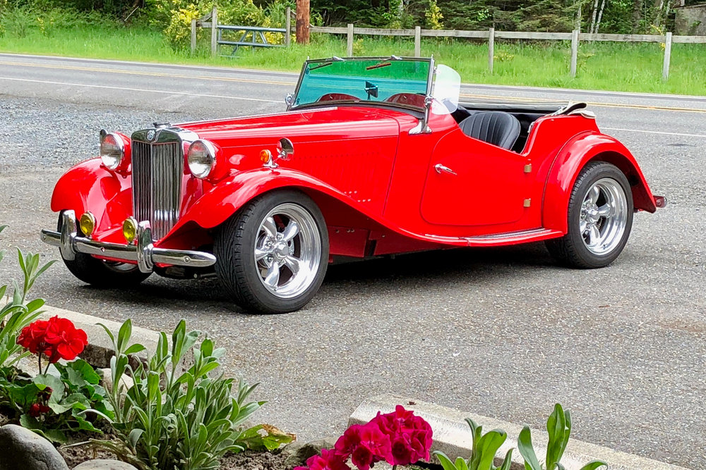 Rent a Classic Car Seattle MG