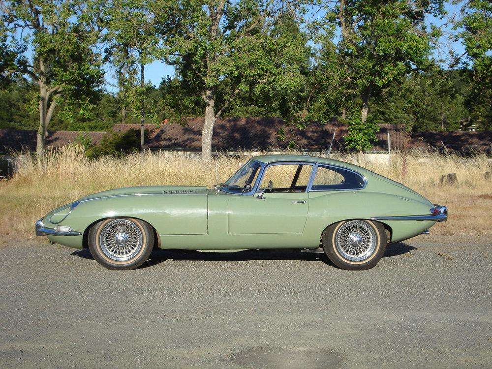 Rent a Classic Car Seattle Jaguar