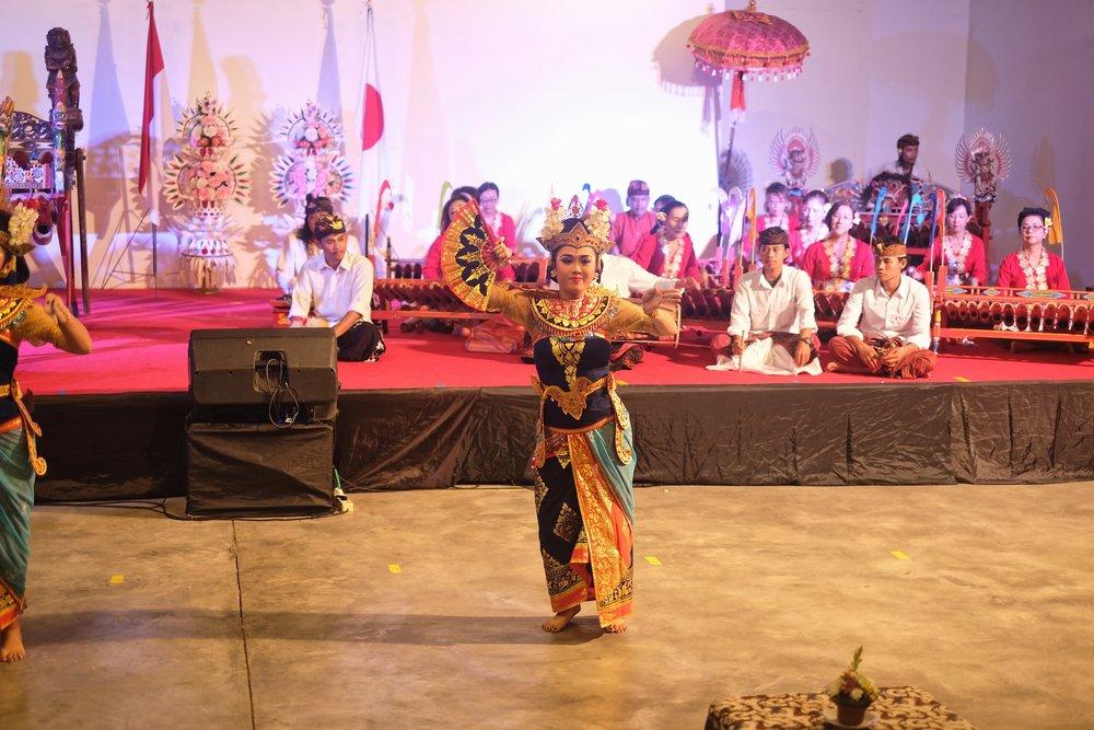 日本インドネシア国交樹立60周年記念オープニング事業開催 - 1月26日~28日の3日間在デンパサール日本国総領事館主催で「日本・インドネシア国交樹立60周年記念オープニング事業」が開催されました。