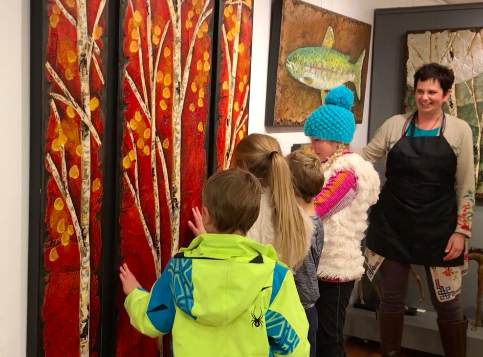 Raitman Fine Art Galleries in Vail, Colorado.