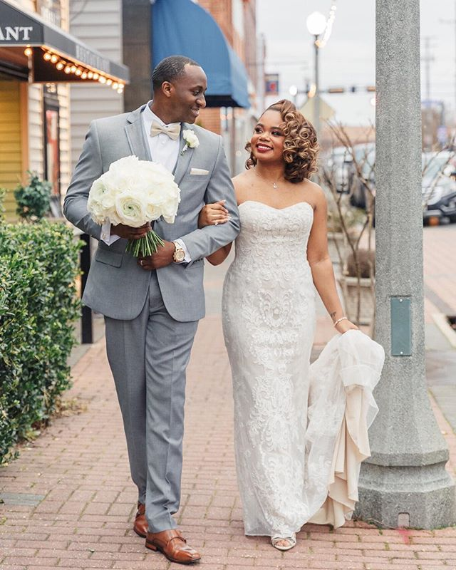 Mr. & Mrs. Crystal and Ellis Taylor 💕 This is love ❤️ It was an absolute honor to share this journey with you. I wish you Endless love and forever happiness 📸: @michaelandjasminephotography ⠀⠀⠀⠀⠀⠀⠀⠀⠀ Planning: @byloveevents Floral Design: @hughesdesignstudio  MUA: @_makeupbyvictoria  Hair: @_hairista_