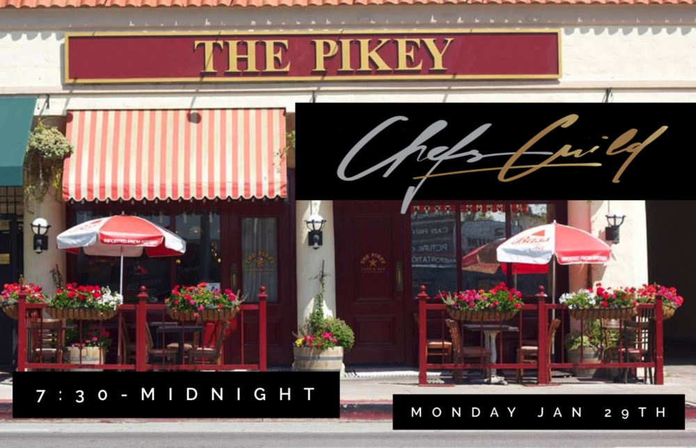 Chef Networking Mixer - Monday, January 29th 7:30 - Midnight