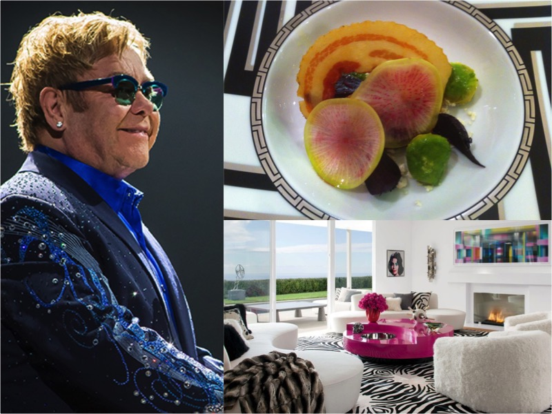 Rocket Chef - Ready to finally unpack my suitcase, I started looking for a private chef job back in Los Angeles. When I heard that Sir Elton and David Furnish were hiring for their Beverly Hills home I jumped at the chance.I'd heard the job was difficult not only because of Elton's well-known temper, but also because the chef needed to double as a house manager.