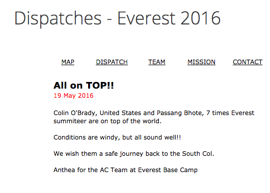 Official AC Dispatch!