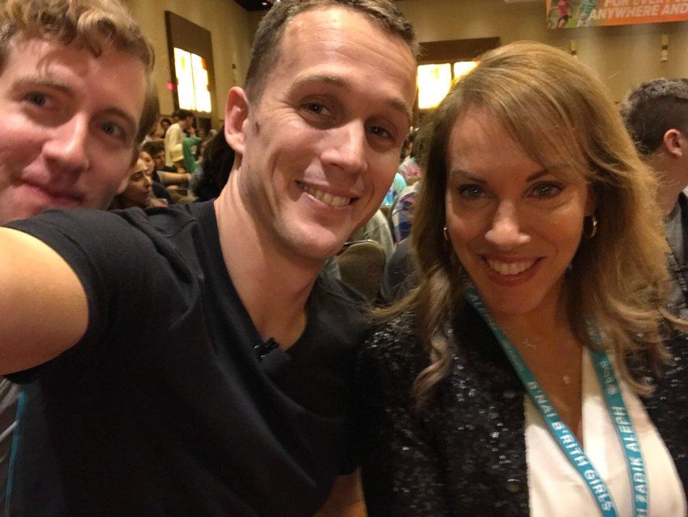 Me, Estee, and Daniel!