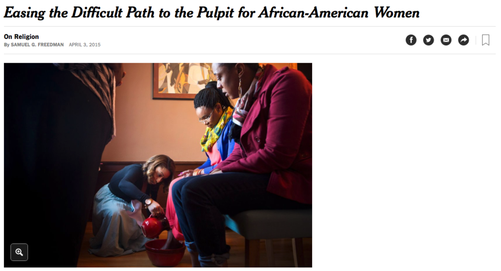 Easing the Difficult Path to the Pulpit for African-American Women