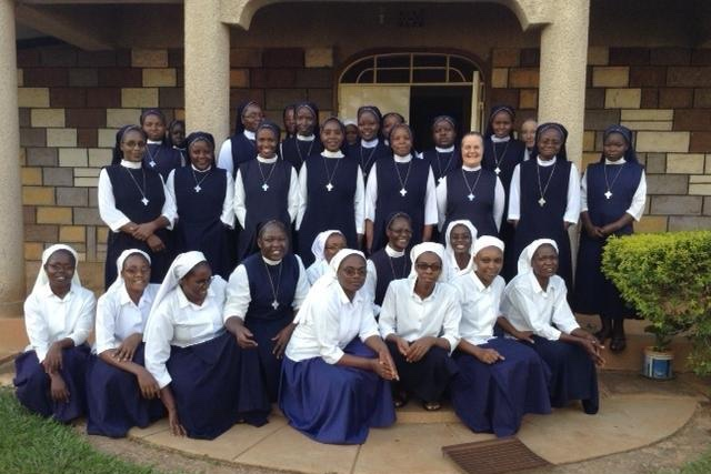 Sisters & Novices - Grace & Compassion Convent, Mundika