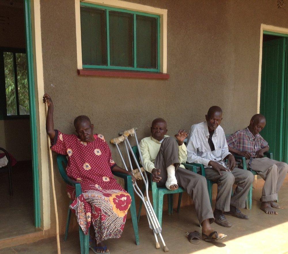 Residents at Mundika
