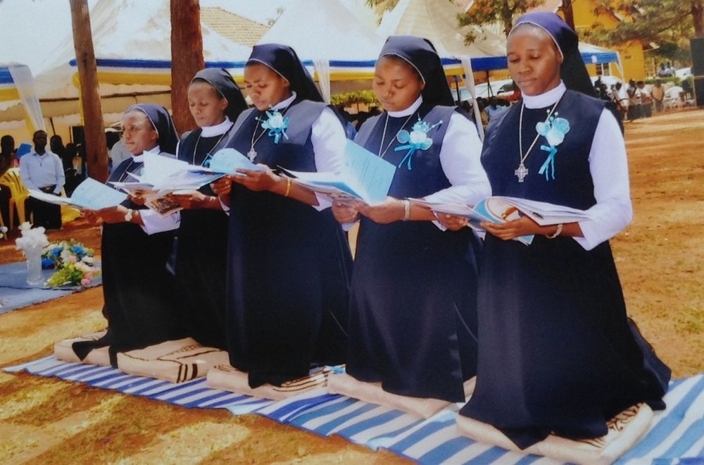 Solemn Blessing during the Final Profession