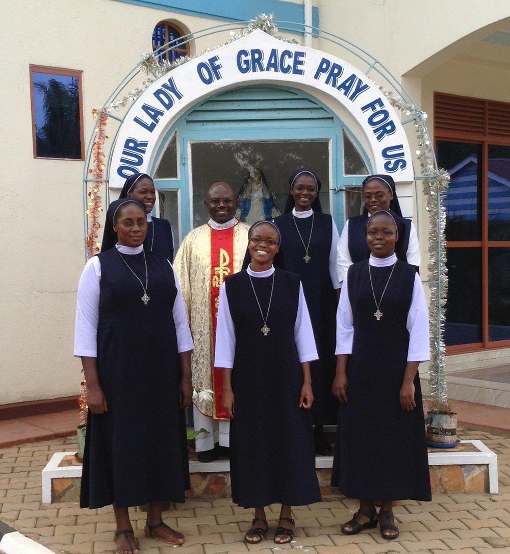 Renewal of vows at Jinja