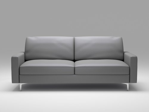 Queenshome leather nova mayfair polyester loveseat and ottoman low ...