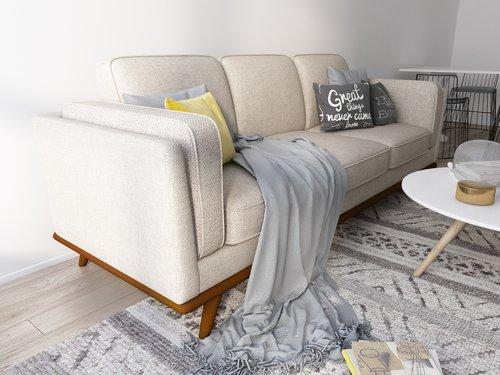 Queenshome Classic Latest Best Good Living Room Wooden Furniture
