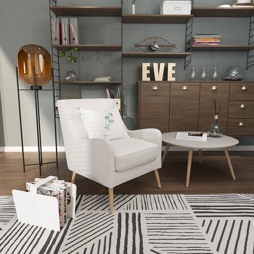 Queenshome Living Room Modern Best Mechanism Velvet Sillon Tela Antique White Single Fabric Recliner Armchair Sofa Arm Chairs
