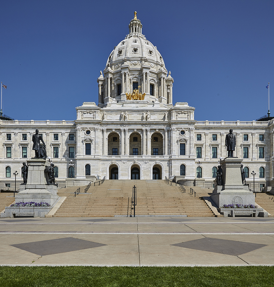 Bauer Metal Minnesota State Capitol Wrought Iron On-Site Welding Historic Preservation Restoriation Architectural Fabrication Minnesota Twin Cities Metalwork Luxury Railings Stairs Wrought Iron Fabricator Welding Twin Cities MN15.jpg