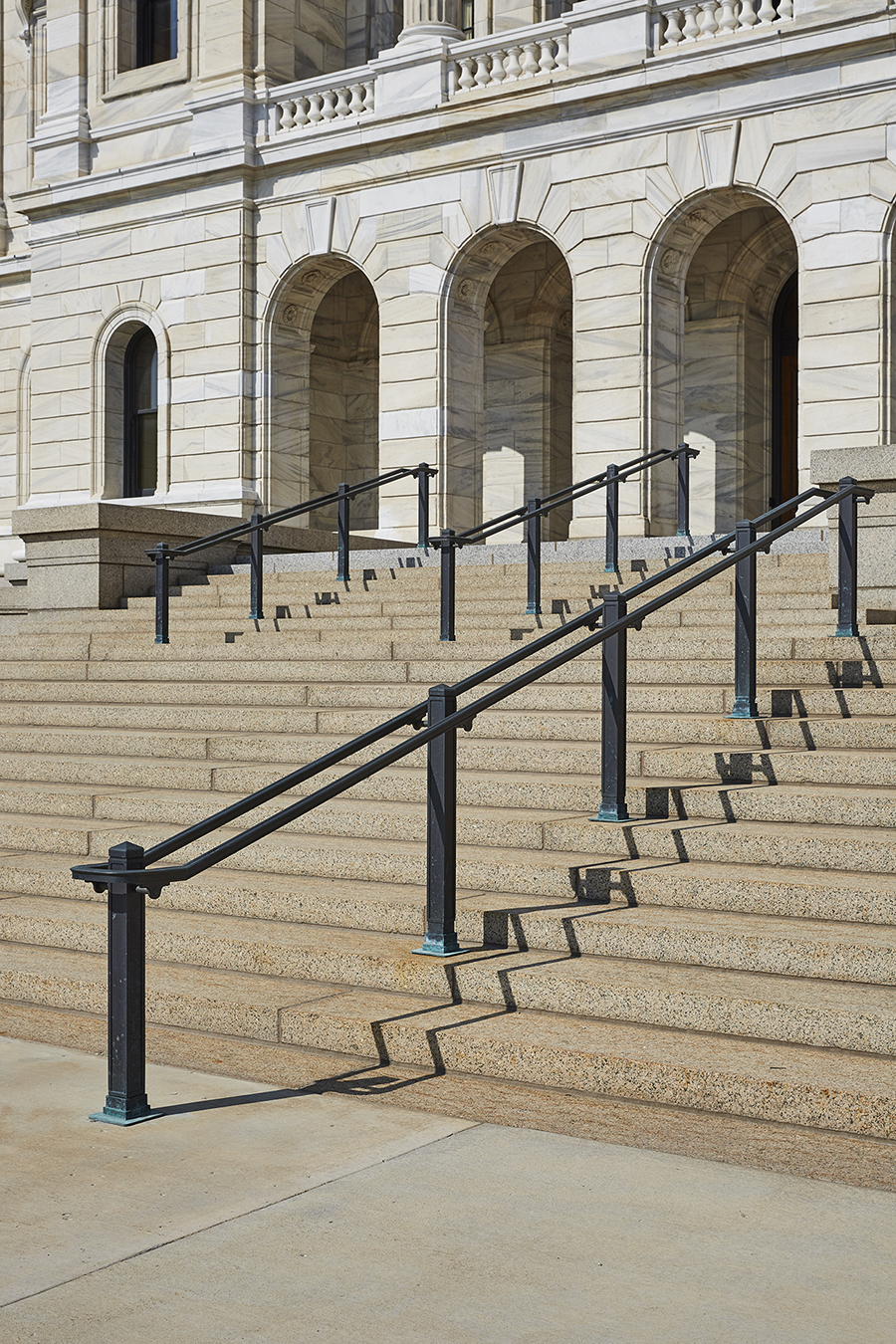 Bauer Metal Minnesota State Capitol Wrought Iron On-Site Welding Historic Preservation Restoriation Architectural Fabrication Minnesota Twin Cities Metalwork Luxury Railings Stairs Wrought Iron Fabricator Welding Twin Cities MN3.jpg