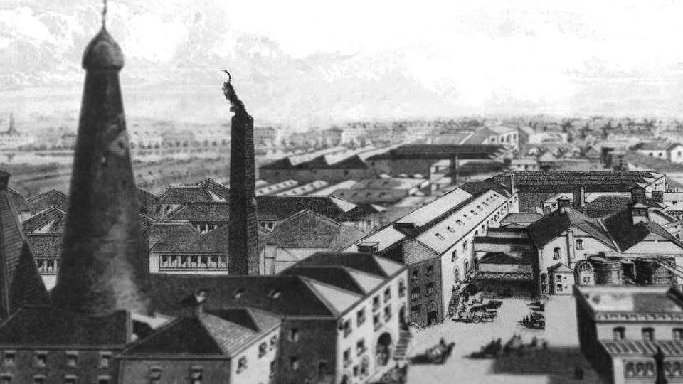 George Roe Distillery, Thomas Street, Dublin