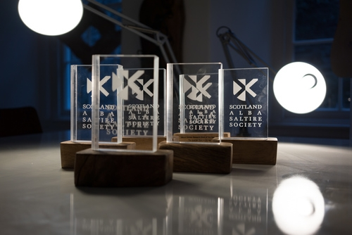 Oak and Acrylic Award