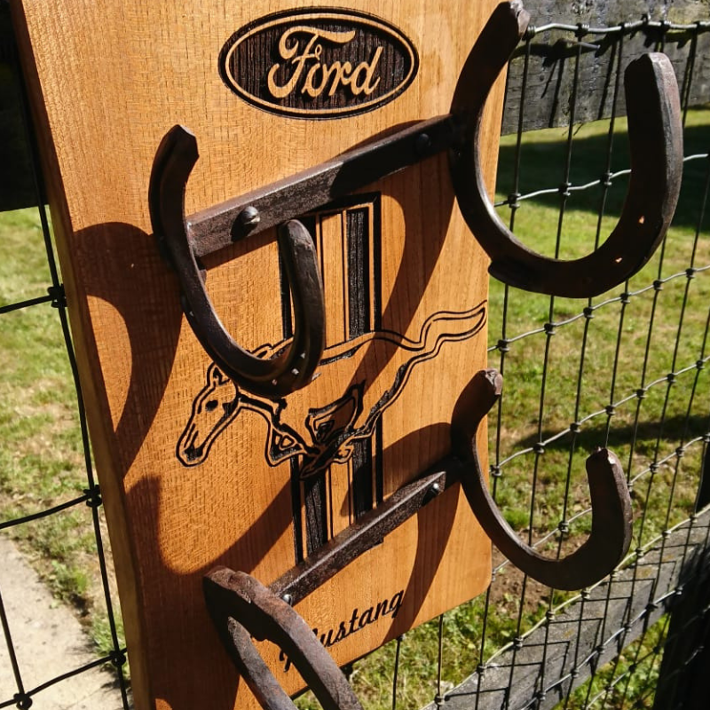 Ford Mustang wine rack