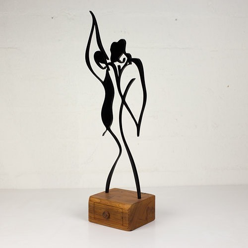 Let's dance • Modern art with a touch of nature. Made from acrylic and set upon a unique handmade yew wooden box, with a single drawer. Perfect for general decor or something unique for a bedside table. . Our acrylic pieces come to life when placed in sunlight or next to a lamp. . £45.00 - Delivery or local collection available. . www.blackrosedesignsuk.com - Facebook - Instagram . . #traditionaldesign #originaldesign #smallbusiness #wooddesign #locallymade #uniquegifts #interiordecoration #laseretched #customdesigns #laserengraved #yew #christmas #christmasgifts #craftsman #madeinscotland  #modernart #madeinscotland #woodcraft #custom #wood #creative #creativethinking #woodporn #acrylic #justacard #marketing #advertising #banksy #balloongirl
