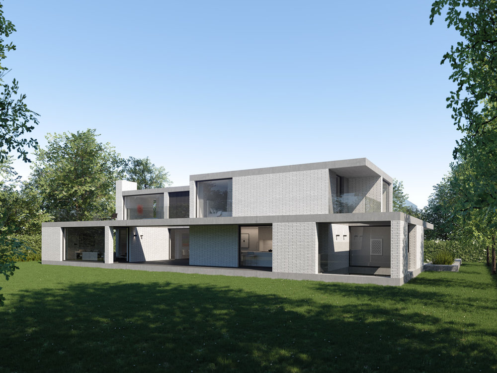RHODE SAINT GENESE PROJECT FOR A NEW DETACHED VILLA