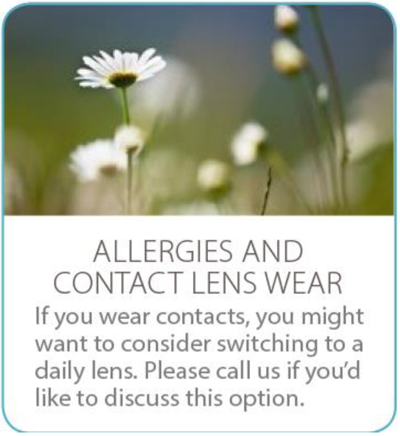 Allergies, Contact Lenses
