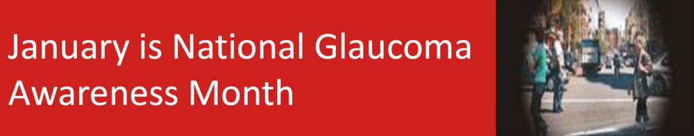 National Glaucoma Awareness
